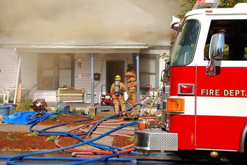 ABI Personal Fire Home Fireman Firetruck cm