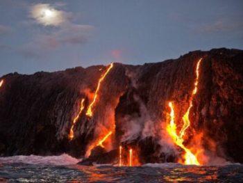 Kilauea Volcano Lava cm 440x310 350x263